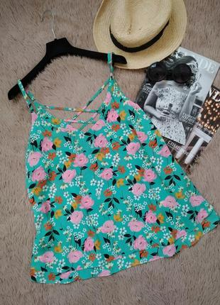 Шикарная блузка со шнуровкой на спинке/блуза/кофточка/майка/топ