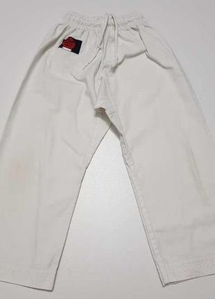 Штаны martial arts для боевых искусств, 120-130, в хорошем сост.