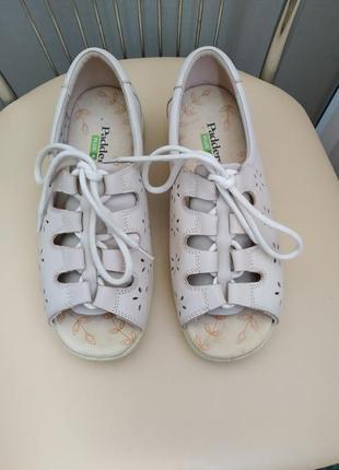 39 p. ортопедические кожаные босоножки сандалии padders