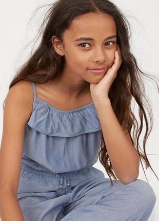Летний комбинезон на девочку 7 - 9 лет. h&m.