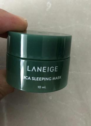 Ночная маска для проблемной кожи laneige special care cica sleeping mask-10 мл