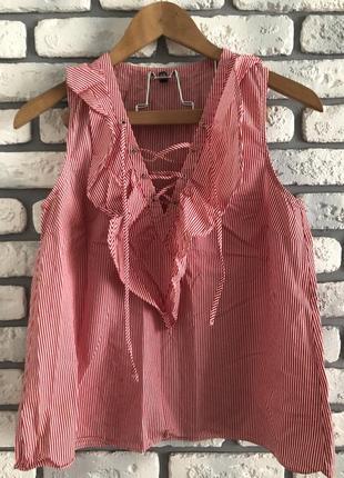 Легкая блузка в полоску