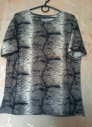 Тоненькая легкая отличная футболка на размер 50-52/xl-xxl