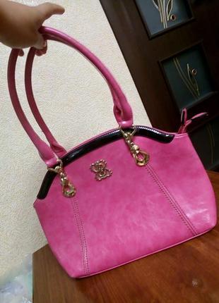 Красивая яркая сумка