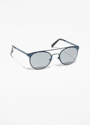 Стильные железные очки оправа темная & other stories