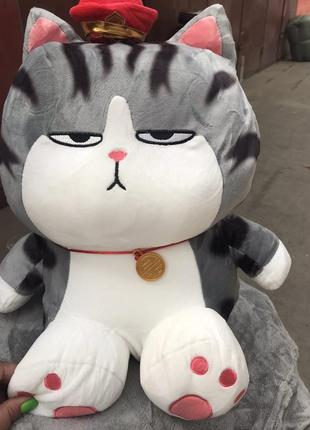 Дитяча іграшка-подушка,плєд кіт