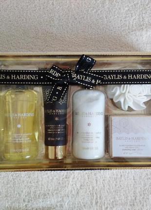 Набор baylis & harding  гель для душа  крем подарок