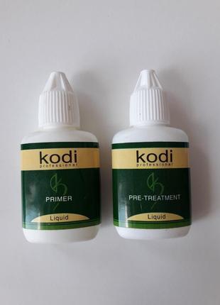 Праймер и обезжириватель для ресниц kodi