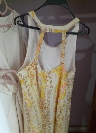 Платье спрафан в цветочный принт