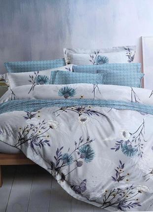 Комплект постельного белья, премиум, турция, комбинированны как на фото