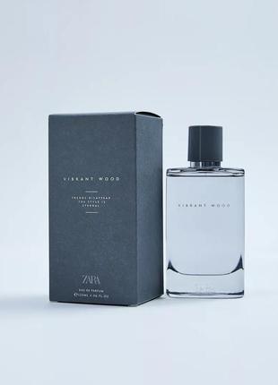 Zara мужские духи,парфюмированная вода. vibrant wood  120ml.