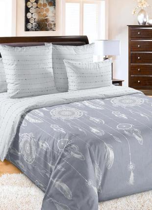 Ловцы снов - атмосферное постельное белье перкаль, 100% хлопок