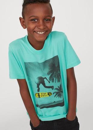Детская футболка stay chill h&m /24112/