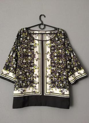 Стильная блузка great plains xl--50 размер.