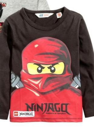 Реглан  кофта ninjago h&m