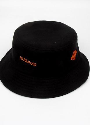Панама paranoid черная