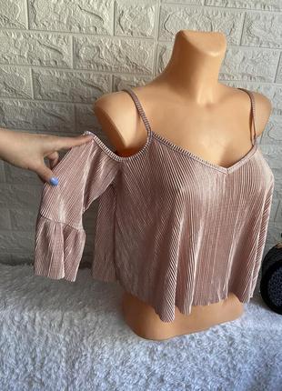 Блуза плісірована