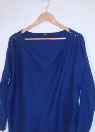 Реглан, трикотажная блуза promod