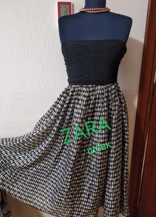 Zara шовкова сукня  s