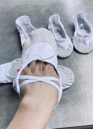 Балетки чешки clibee для танцев спорта /в наличии4 фото