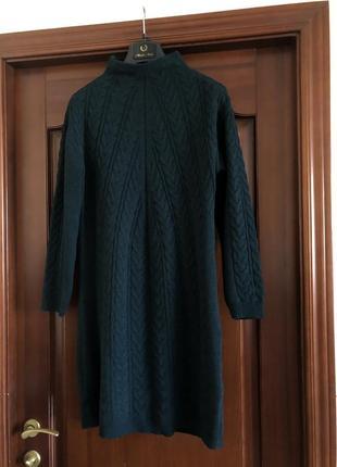 Вязаное платье😍