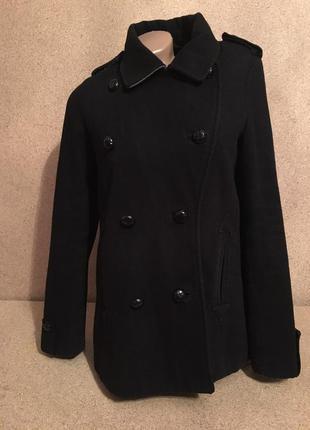Черное классическое пальто по самой низкой цене фирменное