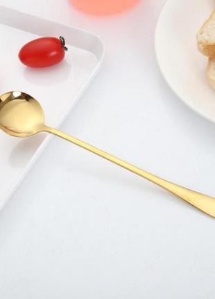 Набор 6шт🔥ложка чайная десертная  коктельная столовые приборы нержавеющая сталь
