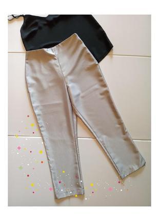 Укороченные узкие брюки, бриджи, новое, сток без бирки