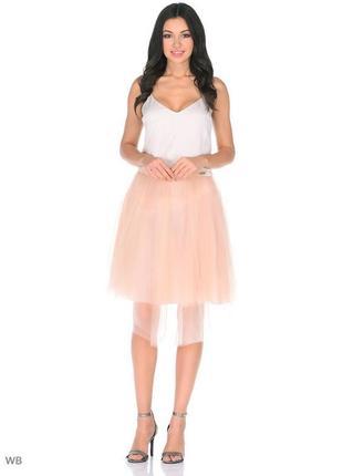 Эксклюзивная юбка 3/4 guess los angeles!оригинал.размер s.