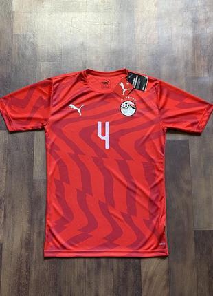 Мужская спортивная футбольная футболка puma drycell egyptian fa claudia 4 оригинал