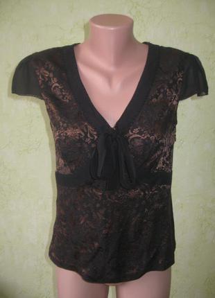 Блузка брендовая шелковая