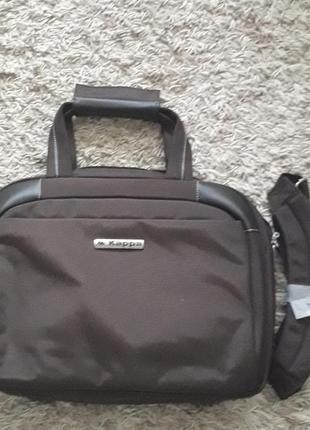 Качественная сумка итальянского бренда kappa,новая,оригинал