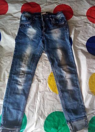 Стильные бойфренды джинсы
