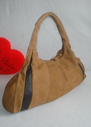 Брендовая кожаная сумка бренд manfield