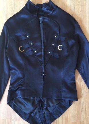 Пиджак, пиджак атласный, жакет, фрак