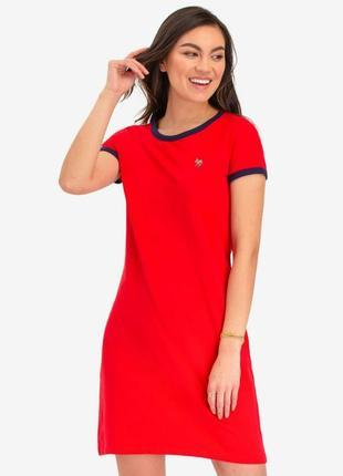 Фирменное платье-футболка
