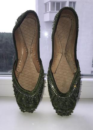 Туфли для восточных танцев восточные 37