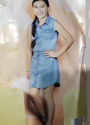 Джинсовое платье 14 лет