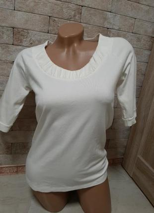 Хлопковая блуза футболка