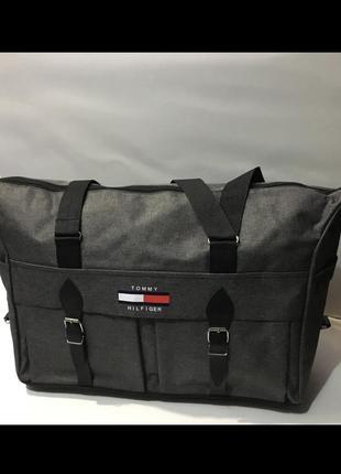 Супер вместительная дорожняя сумка tommy hilfiger☑️
