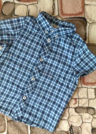 Идеальная рубашка h&m  на мальчика 2-3 года