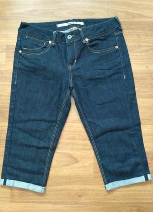 Topshop джинсовые бриджи w30, состояние новых!