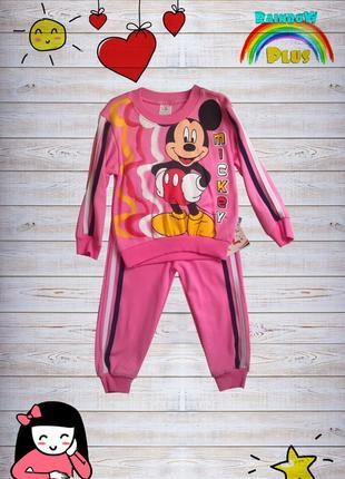 Прогулочный костюм mickey mouse для девочки ✿