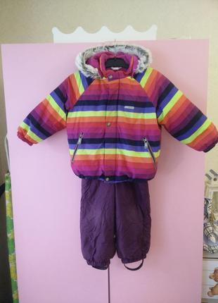 Комбинезон lenne зимний 92 размер + подарок штаны lenne