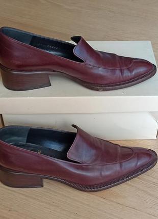 Шикарные брендовые туфли 38,5 bruno magli.