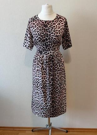 Супер цена до 05.08!!!модное платье в animal принт