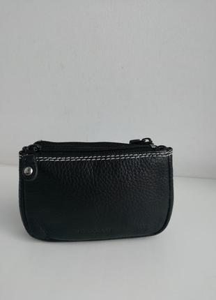 Шкіряна фірмова італійський гаманець - ключниця maddison!!! оригінал!!!