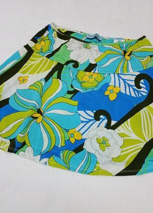 Летняя короткая мини юбка guess