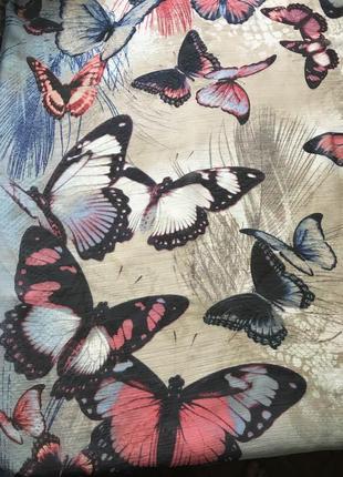 Красивый платок в бабочки от gerry weber
