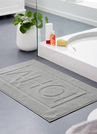 Плотный махровый коврик для ванной - tcm tchibo германия, хлопок 100%